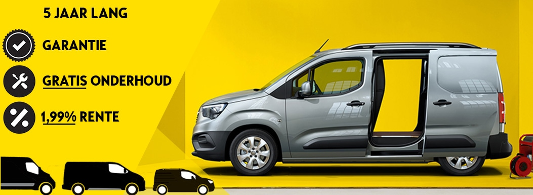 Opel Combo actie