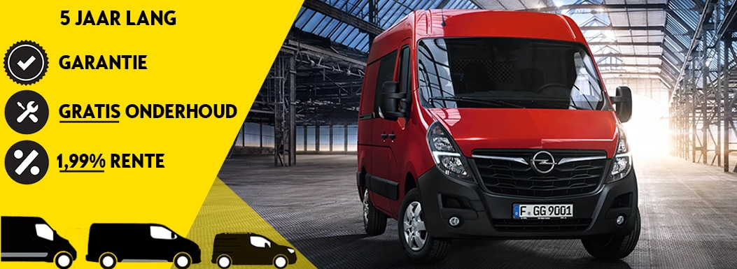 Opel Movano actie