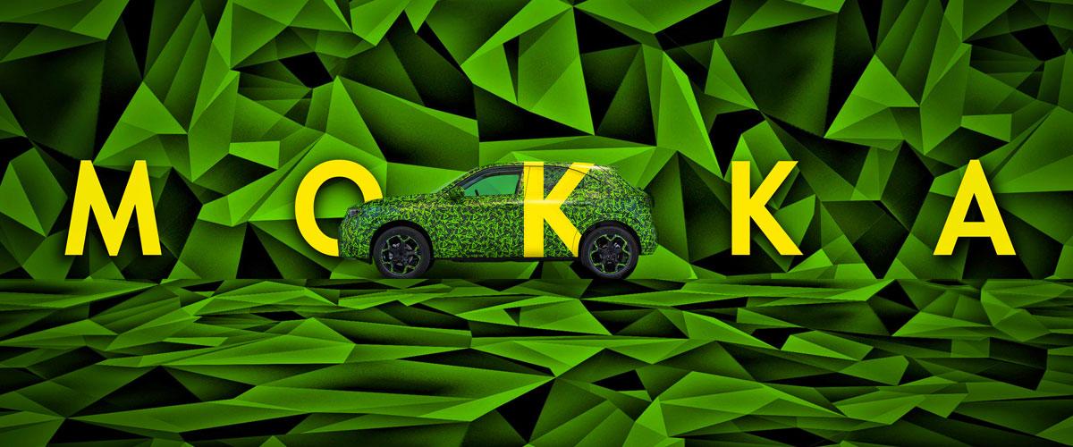 Nieuwe Opel Mokka
