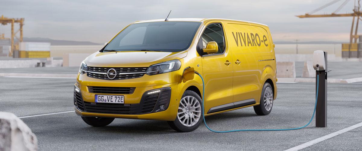 Nieuwe Opel Vivaro-e
