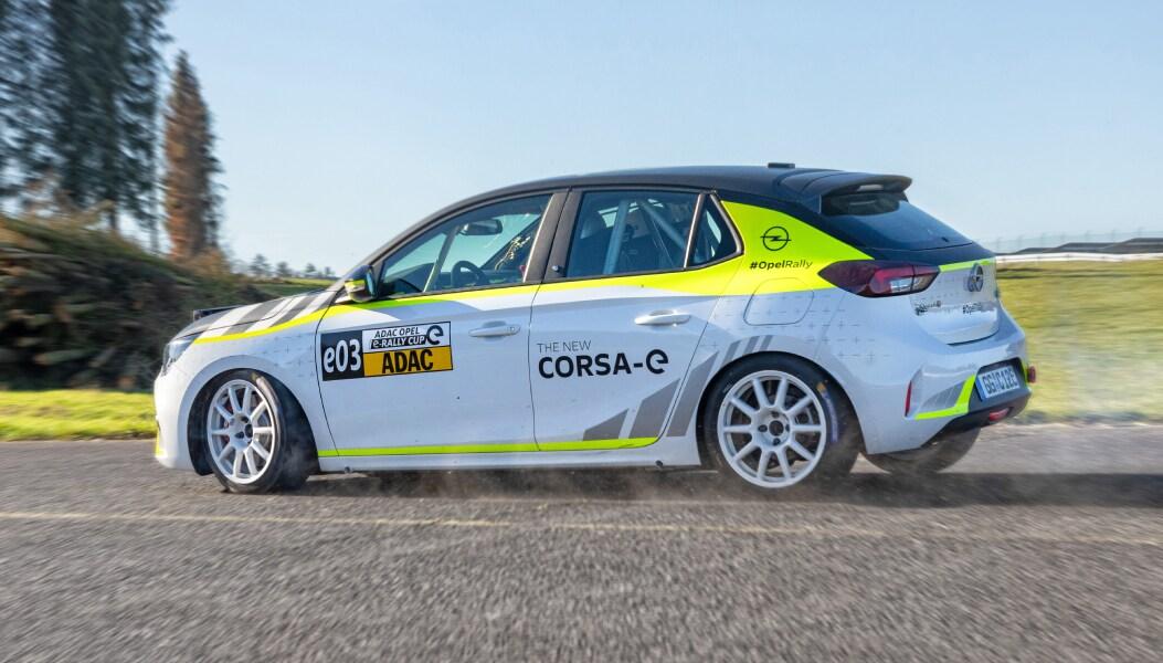 opel corsa-e rally is klaar voor actie - opel nederland