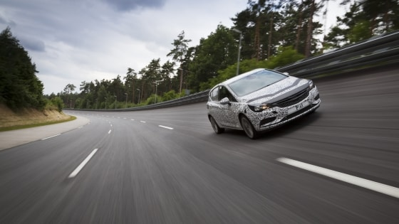 Opel Supports 24-hour World Record Attempt by Nici Walde