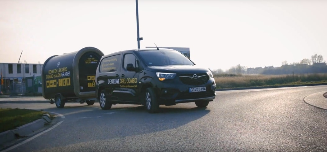 Opel Combo Foodtour