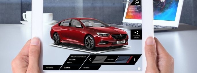 Opel Exclusive Augmented Reality App