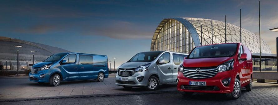 De NIeuwe Opel Vivaro