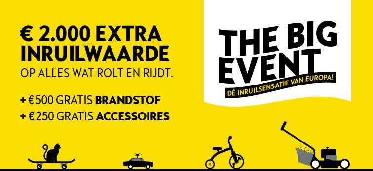 €2000 extra inruilwaarde, €500 brandstof en meer!